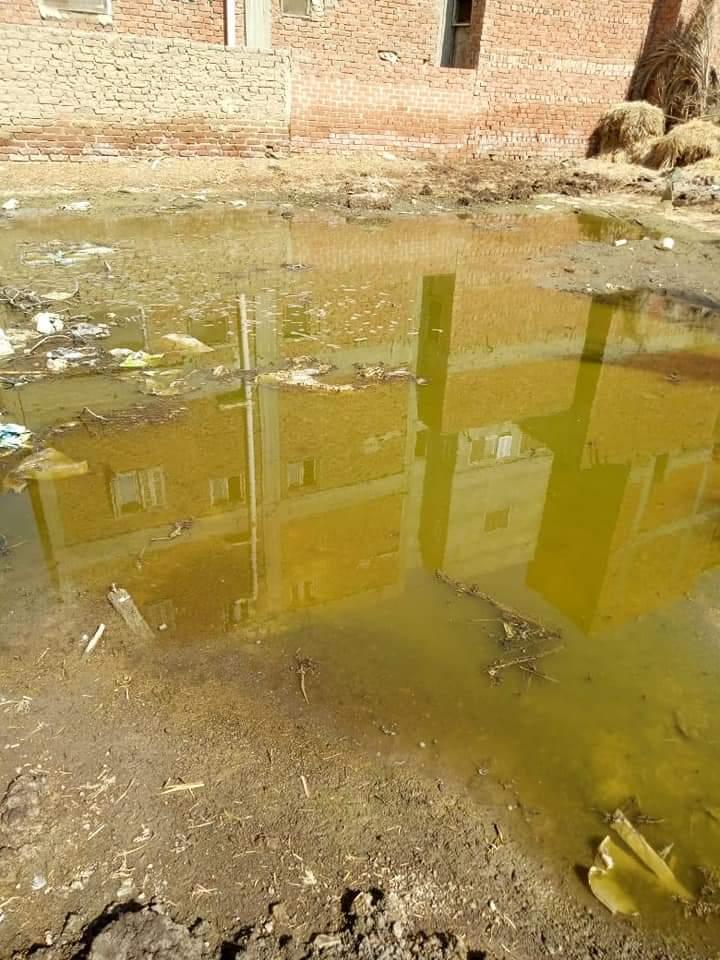 غرق الشوارع بالصرف الصحى (7)