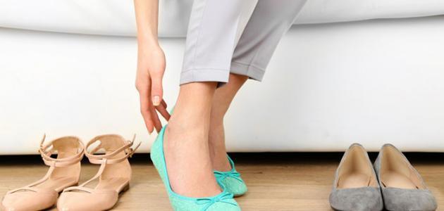 طريقة_توسيع_الحذاء_الضيق
