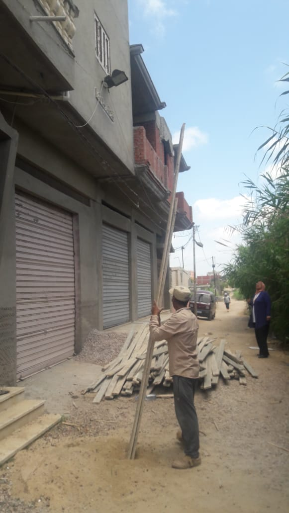 إزالة البناء المخالف بالإسكندرية (2)