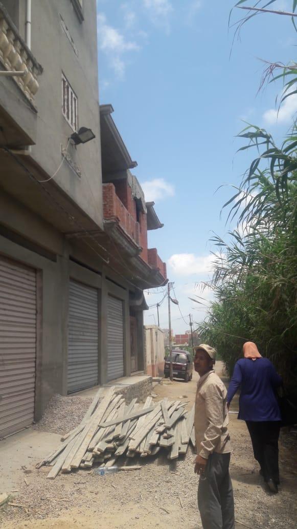 إزالة البناء المخالف بالإسكندرية (1)