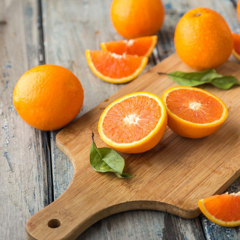 البرتقال يحتوى على فيتامين سى