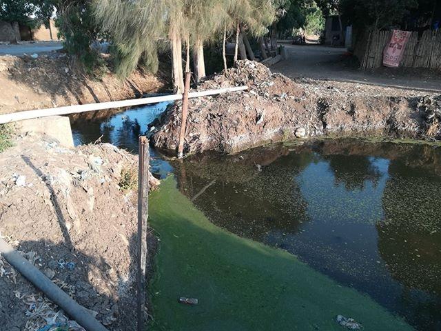 اختلاط المياه بالصرف