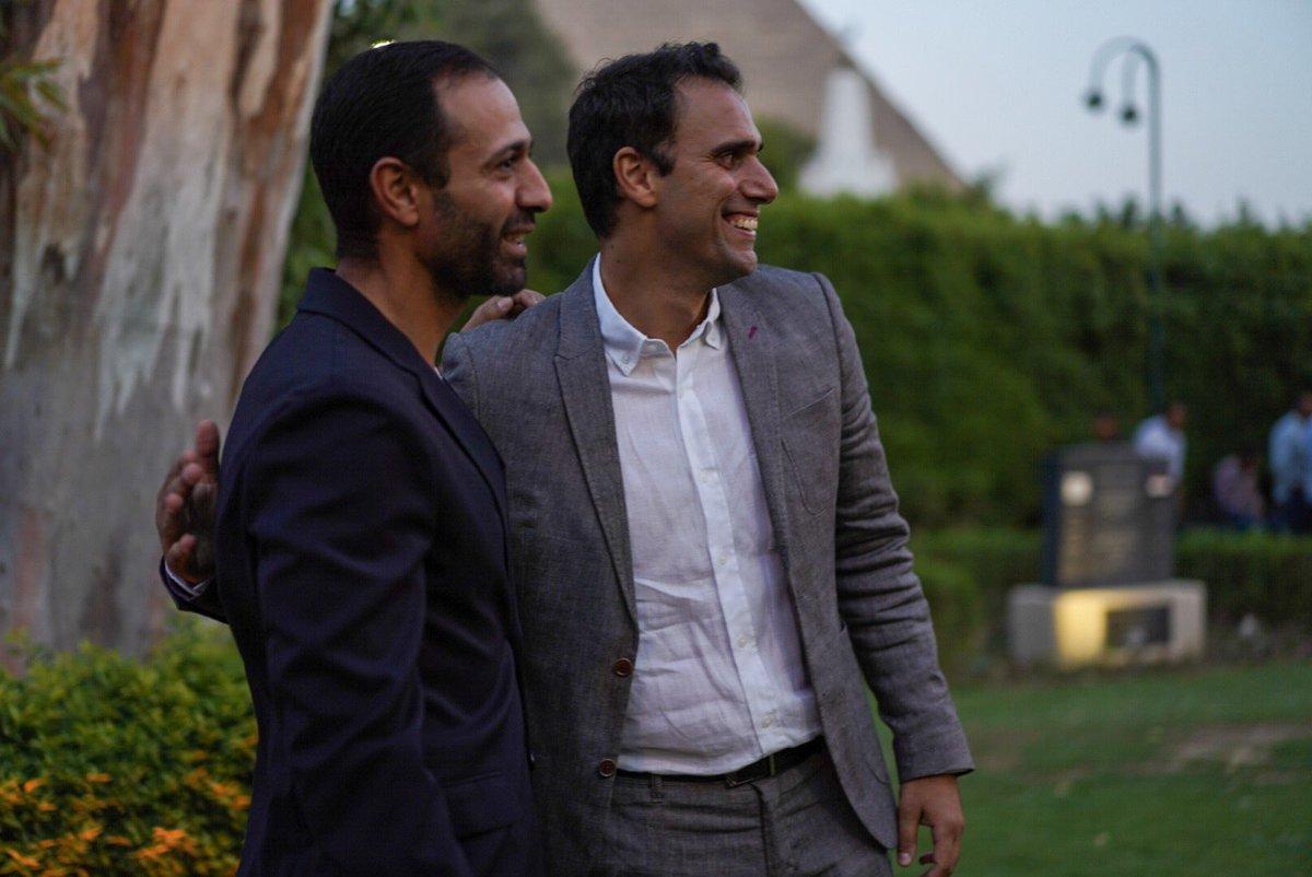عمرو شبانة وكريم درويش
