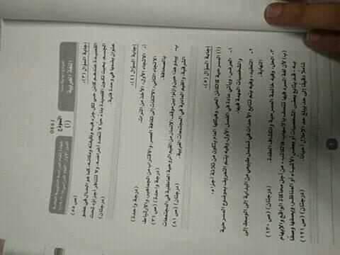 نموذج إجابة اللغة العربية (13)