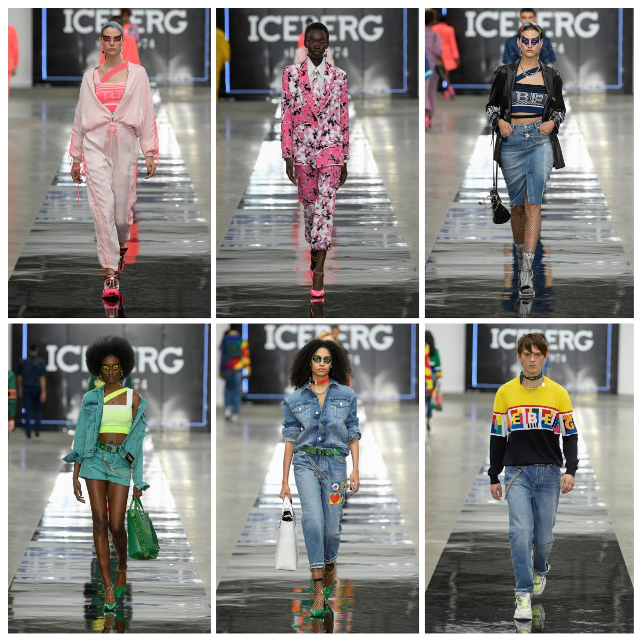 مجموعة مختلفة من أزياء  Iceberg