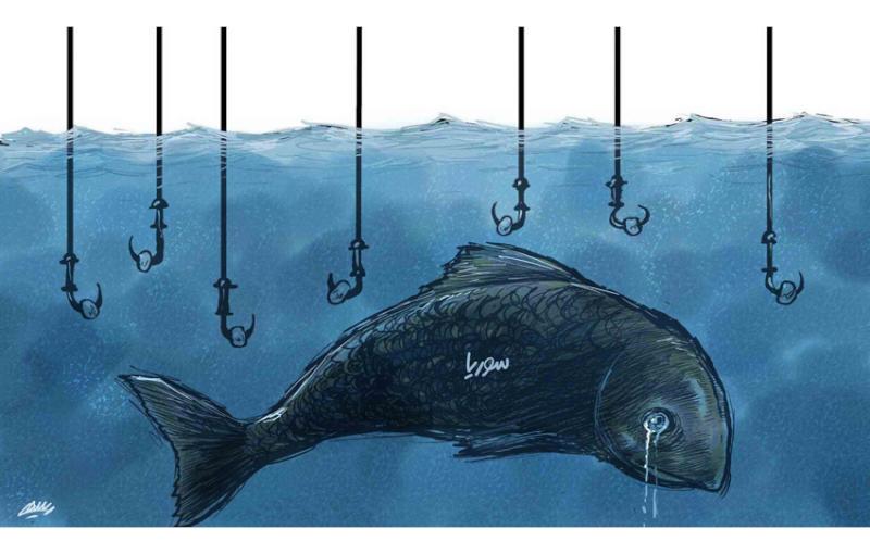 كاريكاتير الشرق الأوسط السعودية