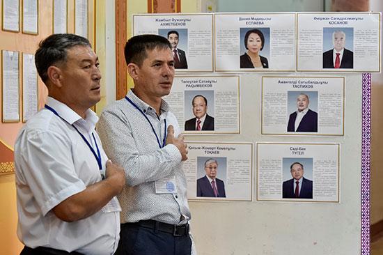 أعضاء اللجنة الانتخابية