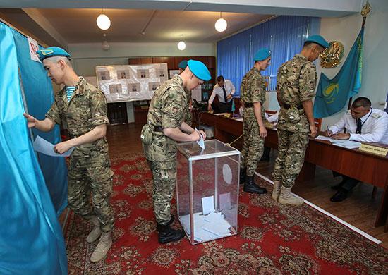 انطلاق الانتخابات الرئاسية فى كازاخستان