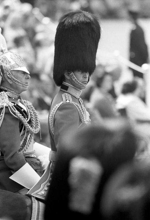 صورة نادرة لتتويج الأمير تشارلز
