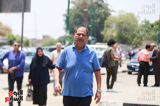 بسام-رجب-فى-جنازة-عزت-أبو-عوف