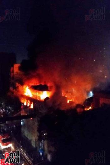 حريق دير الانبا بولا (6)