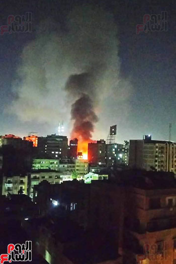 حريق دير الانبا بولا (3)