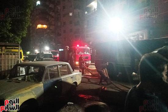 حريق دير الانبا بولا (14)
