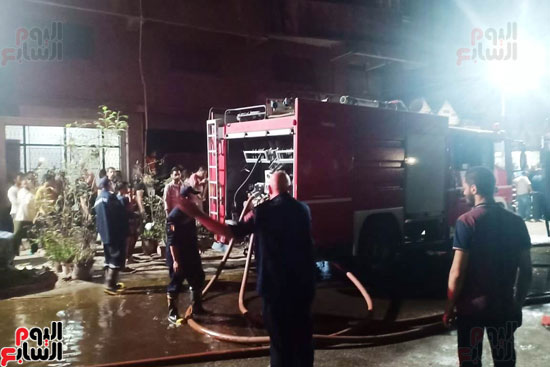 حريق دير الانبا بولا (5)
