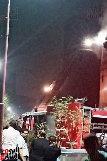 حريق دير الانبا بولا (1)