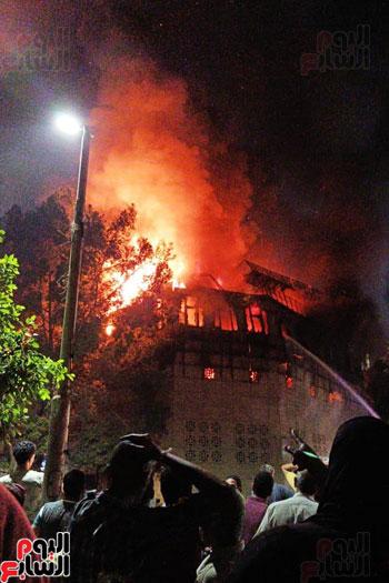 حريق دير الانبا بولا (9)
