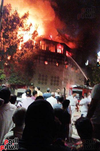 حريق دير الانبا بولا (15)