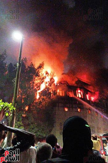 حريق دير الانبا بولا (16)