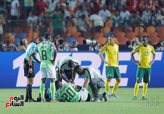 مباراة نيجريا وجنوب افريقيا (15)