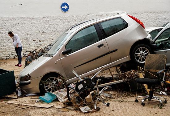 تضرر السيارات
