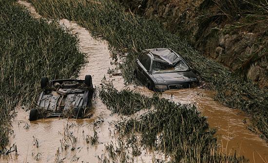 فيضان نهر ثيداكوس