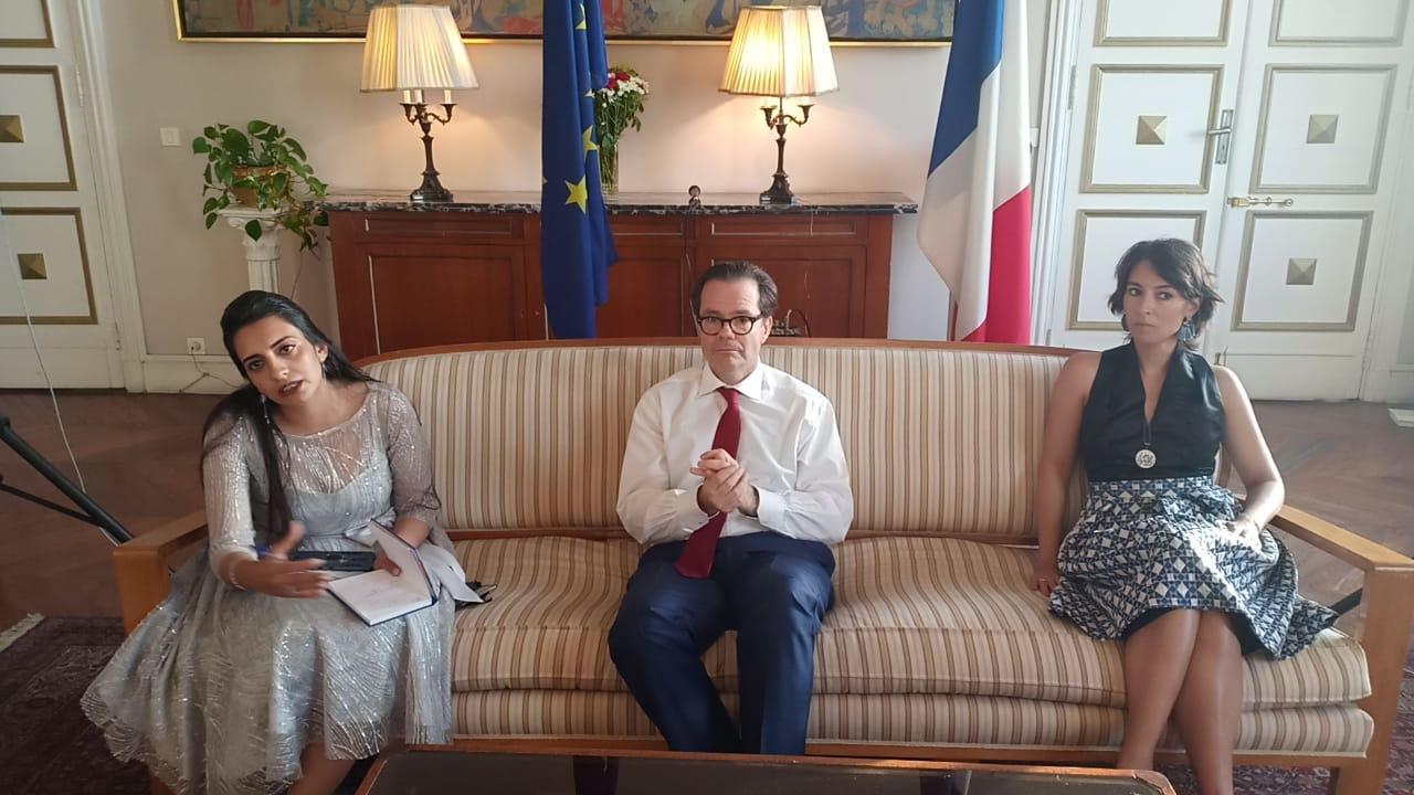 ستيفان روماتيه، سفير فرنسا بالقاهرة،