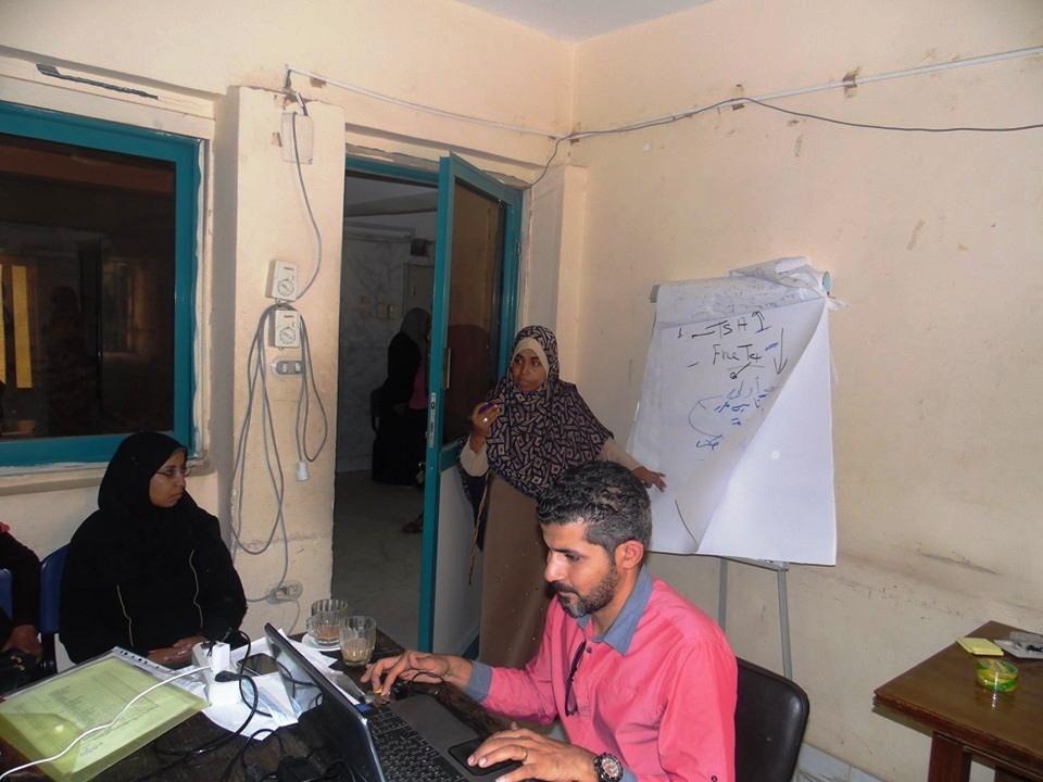 صحة أسوان تنظم دورات تدريبية لرعاية صحة الأم والطفل (3)