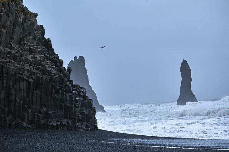 شاطئ رينيسفارا ، أيسلندا