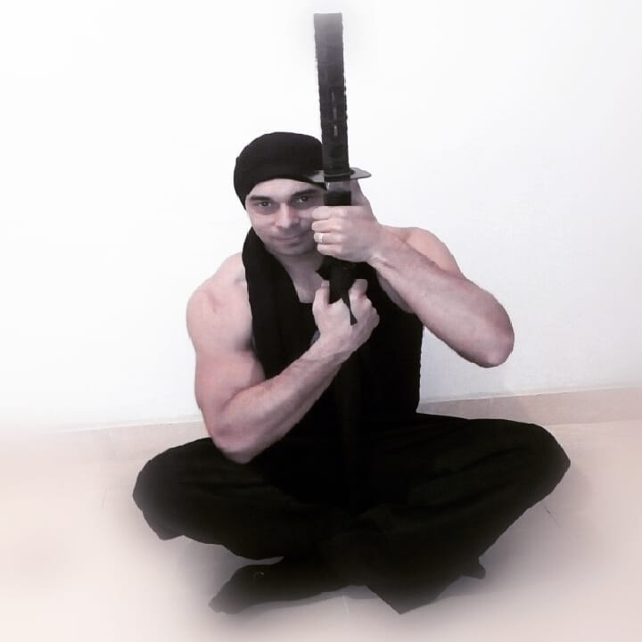 سامر مراد يؤدى تحدى جديد بمهارات النينجا (3)