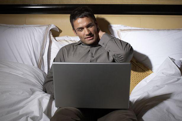 عدم استخدام التكنولوجيا فى السرير