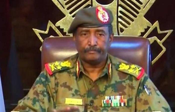 عبد الفتاح الرهان رئيس المجلس العسكرى الانتقالى بالسودان