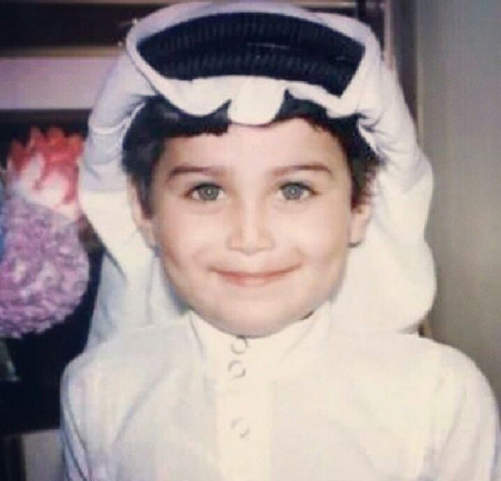 تومى عمران فى طفولته