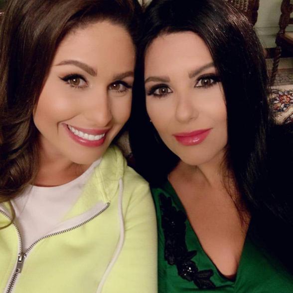 مى سليم وشقيقتها دانا حمدان