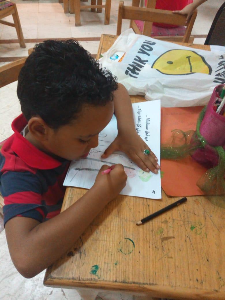 ورشة عمل لتعليم الأطفال ترشيد استهلاك المياه (1)