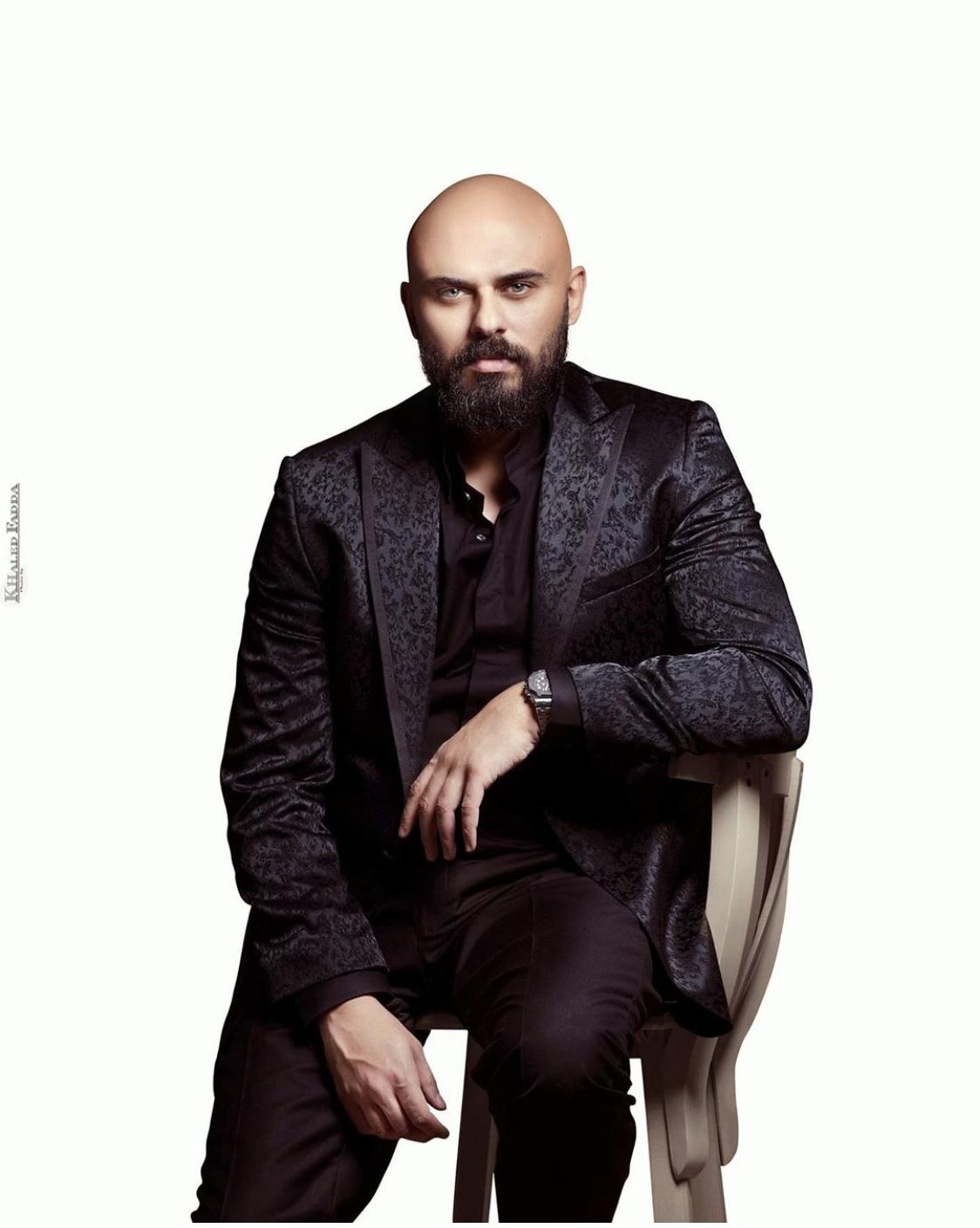 الفنان احمد صلاح حسنى