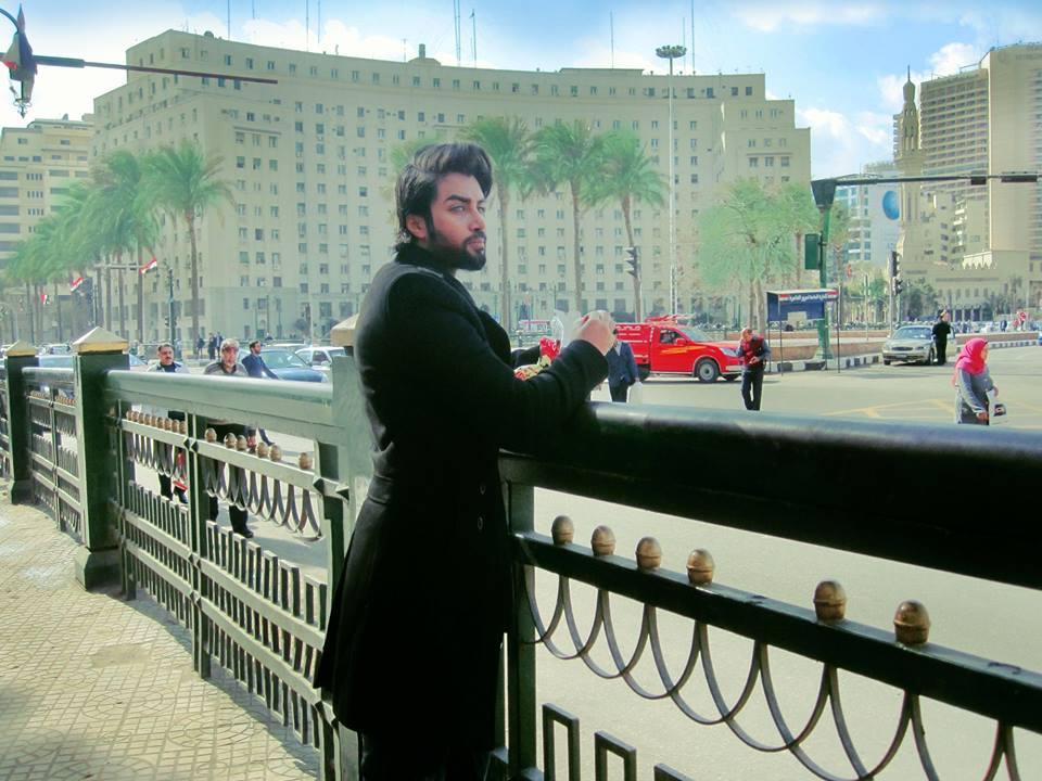 تومى عمران فى زيارته للقاهرة