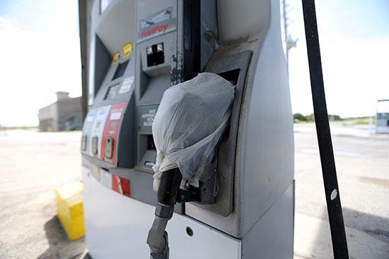 محطات البنزين مغلقة