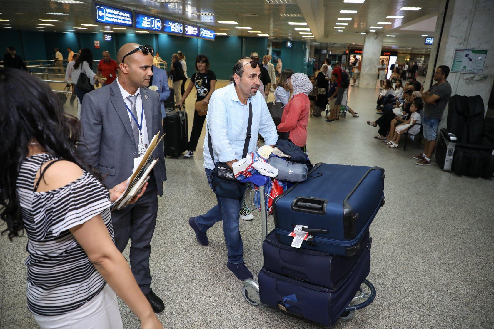 اسامة الرحباني يصل تونس استعدادا لحفله بمهرجان قرطاج