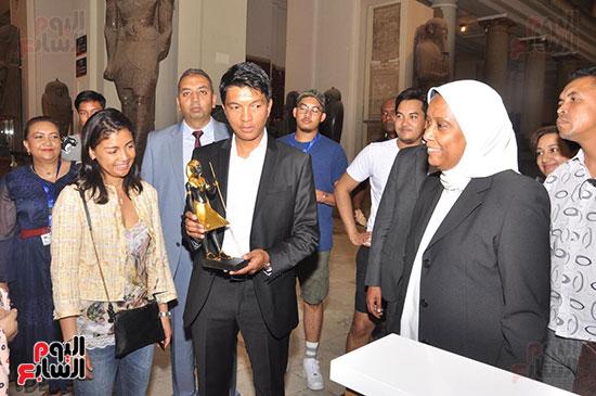 رئيس مدغشقر فى المتحف المصرى بالتحرير (3)