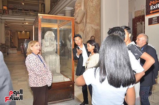 رئيس مدغشقر فى المتحف المصرى بالتحرير (4)