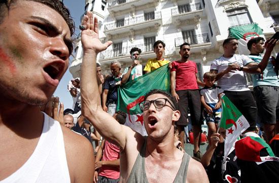 احتجاجات الجزائر