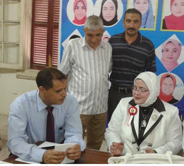 وكيل تعليم كفر الشيخ ورئيس لجنة النظام والمراقبة للشهادة الاعدادية