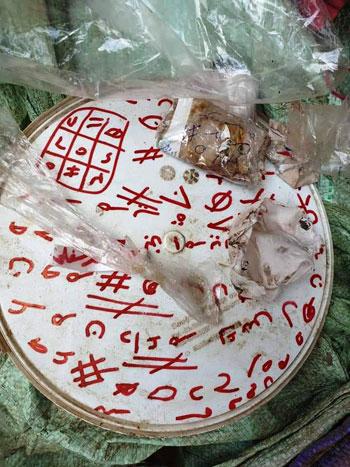 أعمال سحر بمقابر قرى القليوبية (6)