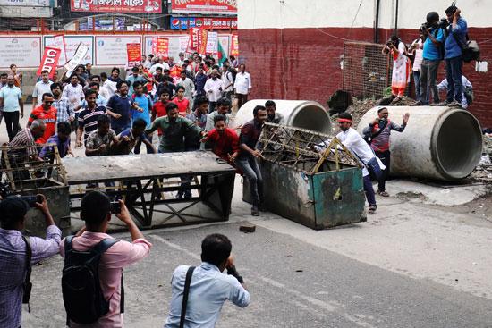 احتجاجات بنجلاديش