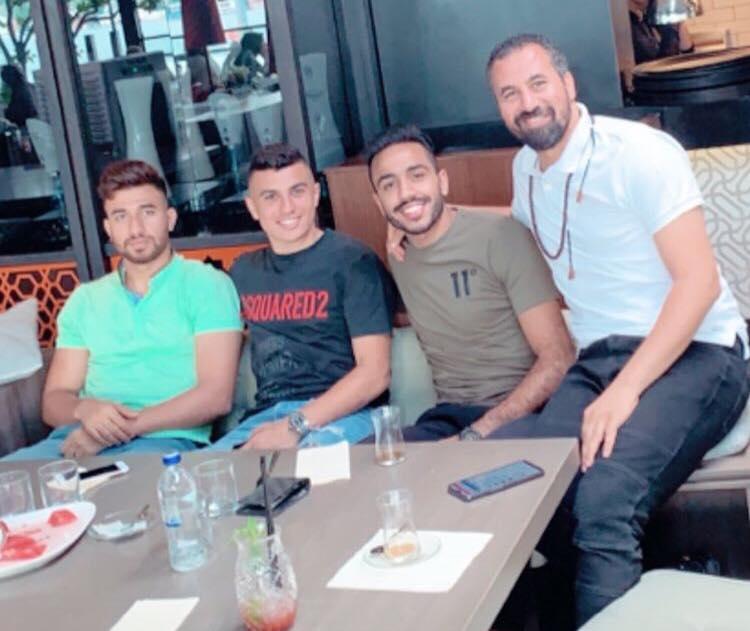 كهربا يظهر مع تريزيجيه وكريم حافظ فى تركيا