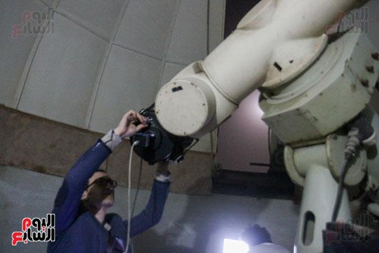 خسوف القمر من مرصد حلوان (16)