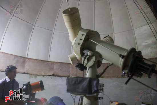 خسوف القمر من مرصد حلوان (12)