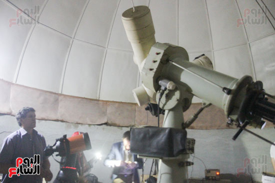 خسوف القمر من مرصد حلوان (6)