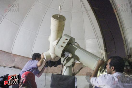 خسوف القمر من مرصد حلوان (17)