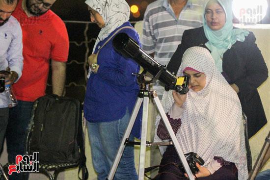 خسوف القمر من مرصد حلوان (15)